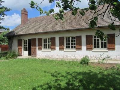 Maison cheminée 3 chambres garage sur 2130m² de terrain