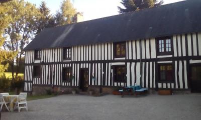 Maison en colombages