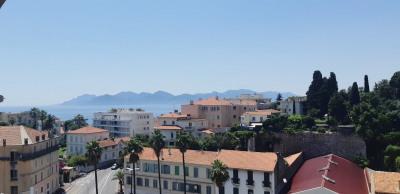 Cannes proche Square Mistral 3 pièces vue mer Cannes