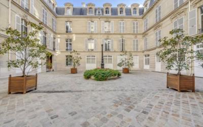 Paris 8ème - rue marignan