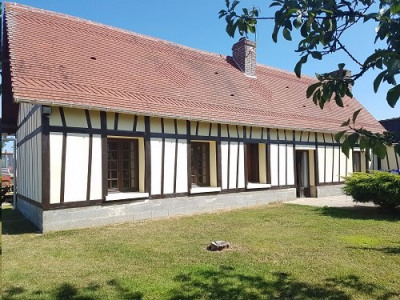 Maison normande située entre Aumale et Blangy sur Bresle