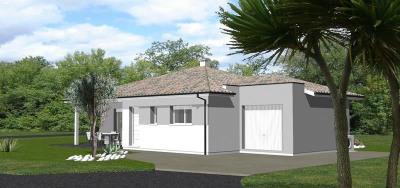 """Modèle de maison  """"Modèle de maison 4 pièces"""" à partir de 4 pièces Landes par IGC CONSTRUCTION"""