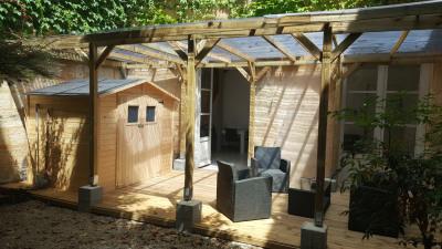Appartement duplex 3 chambres terrasse jardin