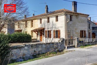 Maison pierre 150 m² entre Pugnac et St André Pugnac