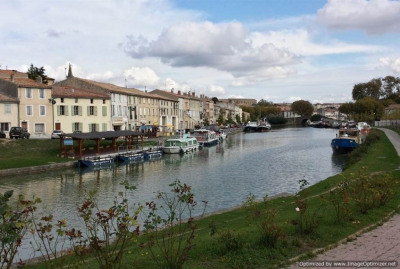 Elegante & spacieuse maison de ville sur le Canal du Midi