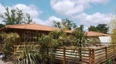 Dépaysement garanti pour cette maison en bois atypique