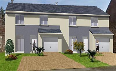 Maison  5 pièces + Terrain 280 m² Nancy par MAISONS OXEO