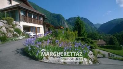 Maison face au Mont-Blanc