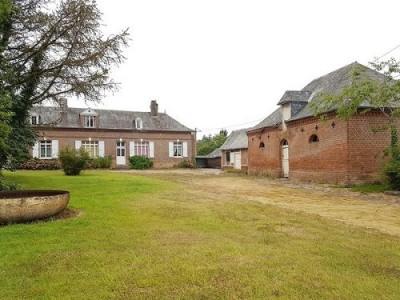 Ancien corps de ferme avec 2 habitations proche d'Aumale