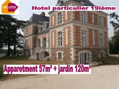 Appartement 57m² + jardin 160m² hôtel particulier