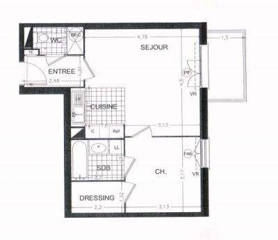 Alquiler  apartamento St michel sur orge 750€cc - Fotografía 3