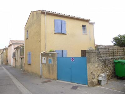 Maison de village avec cour et garage