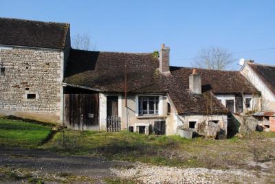 Maison ancienne 5 km de chablis - 3 pièce (s) - 60 m²
