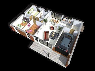 Maison  4 pièces + Terrain 1698 m² Saint Genès de Castillon par TANAIS HABITAT