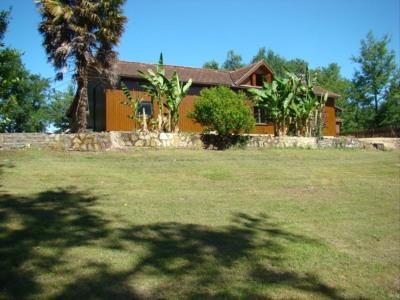 Maison de campagne bois