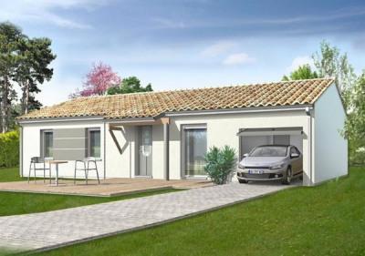 Maison  4 pièces + Terrain 1500 m² Saint Sulpice et Cameyrac (33450) par IMMO CONSTRUCTION