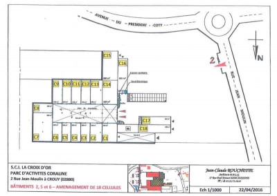 Location Local d'activités / Entrepôt Crouy