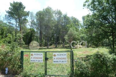 Vente terrain Roquefort-les-Pins
