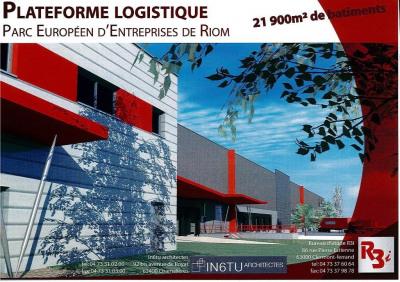 Location Local d'activités / Entrepôt Riom