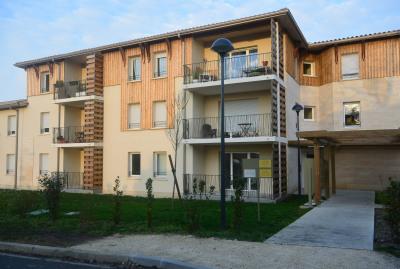 Appartement au 1er étage de type 2 dans résidence récente