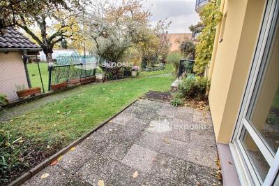 STRASBOURG Neudorf F2 de 54 m² + Terrasse + Garage