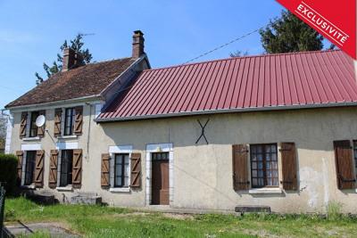 Maison ancienne st sauveur en puisaye - 6 pièce (s) - 160 m²