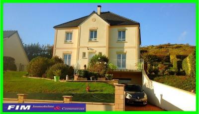 Villa à Mers les Bains parfait état vue dégagée 5 chambres sous