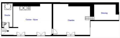 2/3 pièces - 45 m²