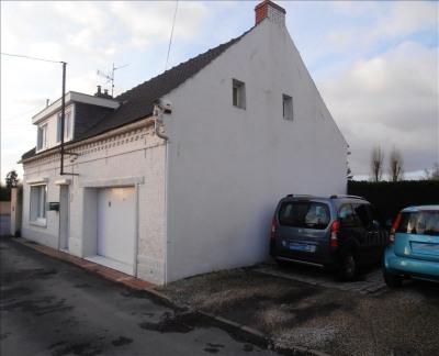 Flamande, jardin, garage