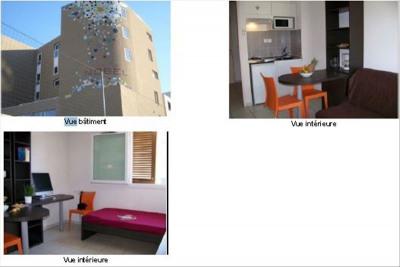 Studio étudiants TOULON - 1 pièce (s) - 18.23 m²