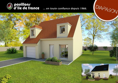 Terrain 400 m² Charny (77410)