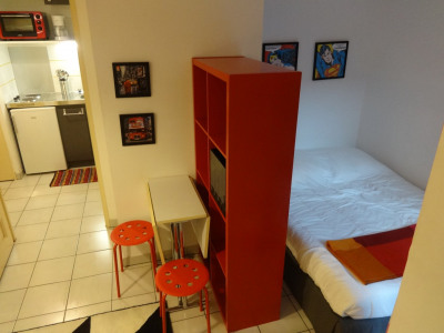 T1bis - 23,83m² - meublé - Rue Bayard - 499€/mois cc