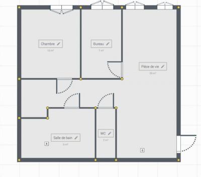 Appartement Extra Muros de 3 pièces