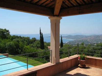 Les issambres - villa 4/5 chambres - magnifique vue mer st trope
