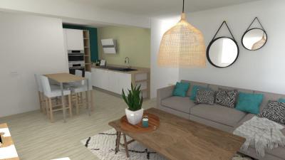 Appartement Aire Sur L Adour 2 pièce (s) 56.56 m²