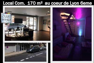 Location Local commercial Lyon 6ème