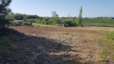 Terrain 2000m² avec fondations et dalle