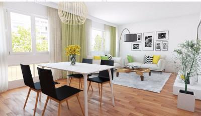 Appartement Decines Charpieu 4 pièce(s) 77 m2