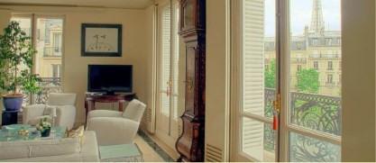 Alquiler  apartamento Paris 16ème 7000€ CC - Fotografía 8