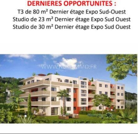 Vente appartement Roquebrune-cap-martin 155000€ - Photo 2