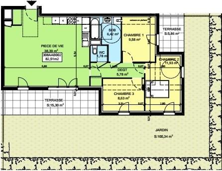 Vente appartement Saint-pierre-en-faucigny 319764€ - Photo 3