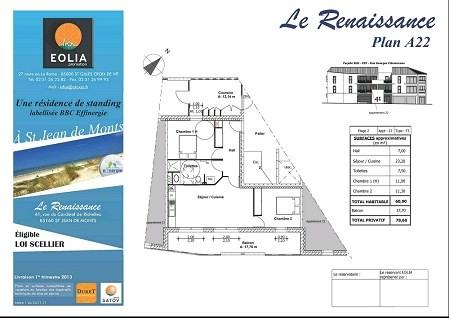 Rental apartment St jean de monts 599€ CC - Picture 2
