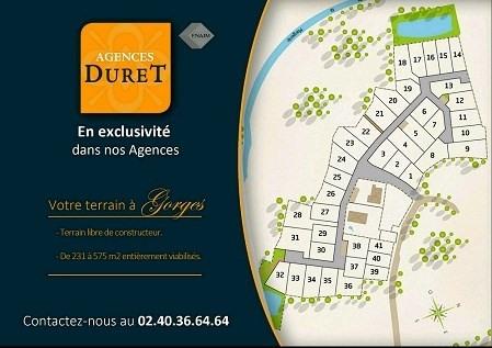 Vente terrain Gorges 72000€ - Photo 1