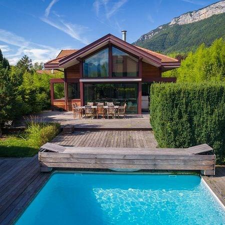Deluxe sale house / villa Veyrier du lac 1260000€ - Picture 2