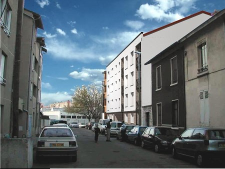 Location appartement Villeurbanne 836€ CC - Photo 2