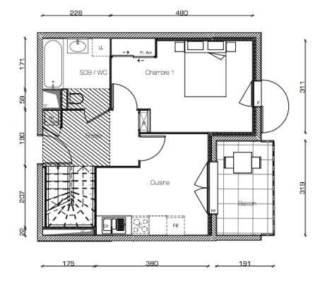 Sale apartment Decines charpieu 305000€ - Picture 4