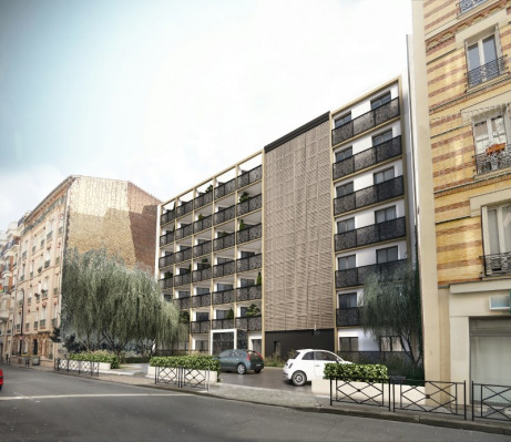 New home sale - Programme - Courbevoie - Photo