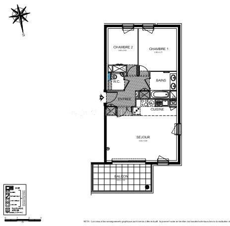 Vente appartement Roquebrune-cap-martin 446000€ - Photo 3