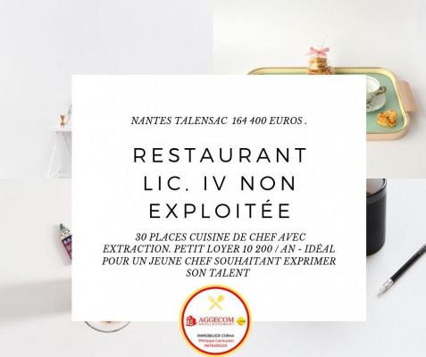 Vendita licenza commerciale - Negozzio - 40 m2 - Nantes - Photo