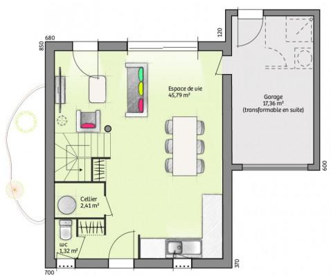 Verkoop  - Bouwproject 6 Vertrekken - 94 m2 - Calvisson - Photo